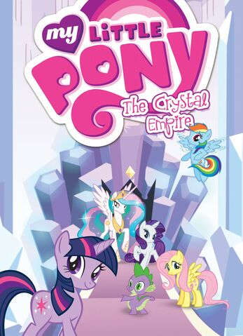 File:My Little Pony The Crystal Empire cover.jpg