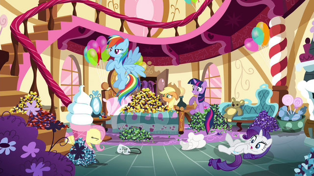 File:Pinkie Pie's friends see Pinkie Pie leaving S4E18.png