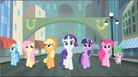 Polish My Little Pony Generosity Song HD