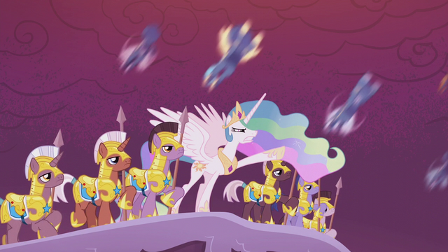 File:Celestia leads her forces into battle S5E25.png