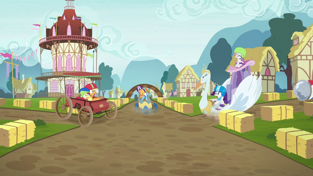 File:Crusaders' carts about to crash S6E14.png