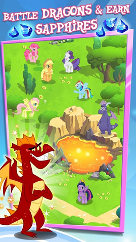 File:MLP mobile game Battle Dragons and earn Sapphires.png