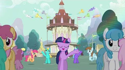 Morning in Ponyville – Latvian