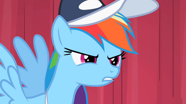 "File:Rainbow Dash ""So the final"" S2E07.png"