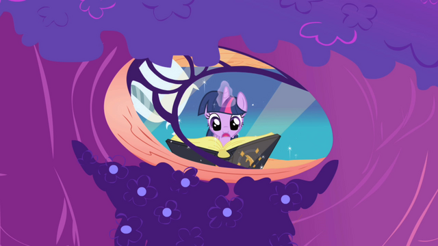 File:Twilight re-reading Mare in the Moon passage S1E01.png