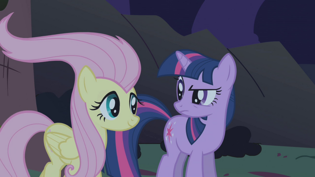 File:Fluttershy with licked hair S01E02.png