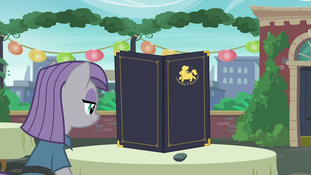 File:Maud Pie with Boulder on the dining table S6E3.png