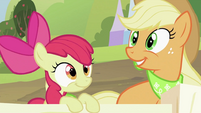"Applejack ""It's almost"" S2E05"