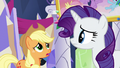 "Applejack ""looks like a mishmash of knickknacks"" S5E3.png"