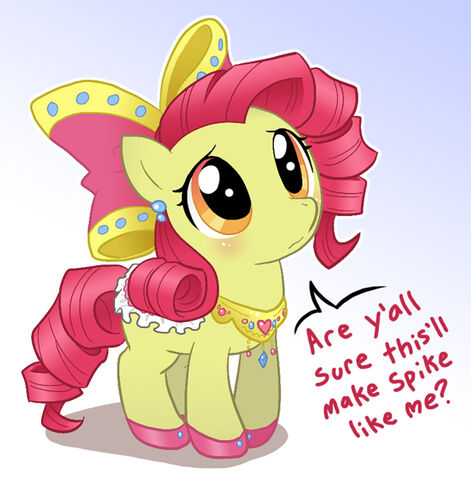 File:FANMADE apple bloom dressed up.jpg