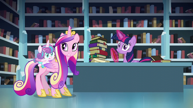 File:Flurry Heart, Cadance, and Twilight hears thunderstorm S6E2.png