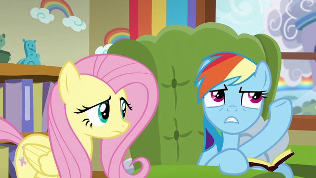 "File:Rainbow Dash ""mane therapy school"" S6E11.png"
