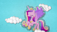 Princess Cadance flying through the sky BFHHS3