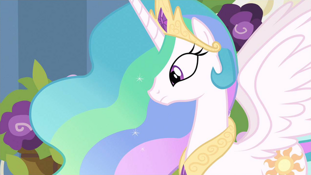 File:Princess Celestia hmm S2E26.png