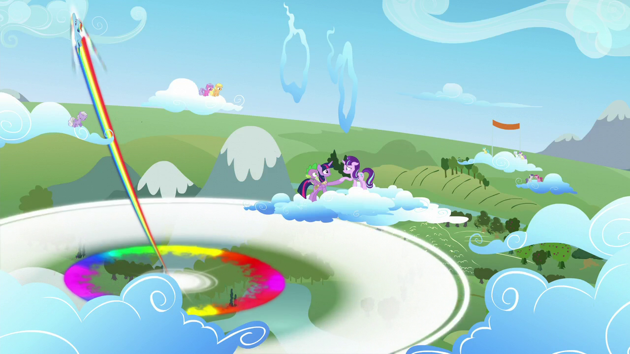 image young rainbow dash does the sonic rainboom s5e26