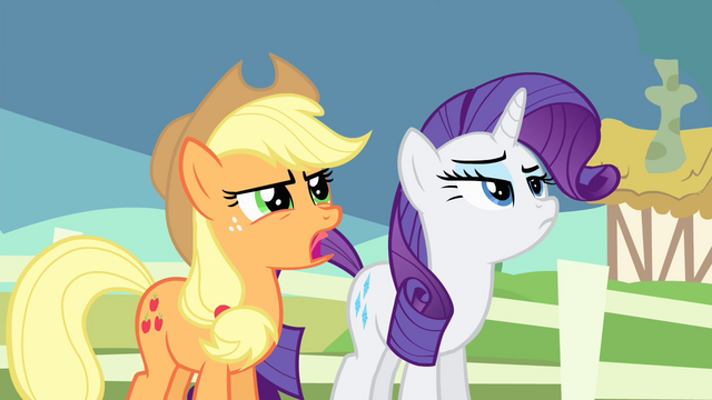 File:Applejack 'They're plenty close' S4E11.png