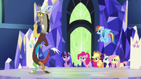 "Discord ""did I get the tiniest bit of glee"" S5E22"