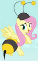 Fluttershy bumbleebee ID S4E16