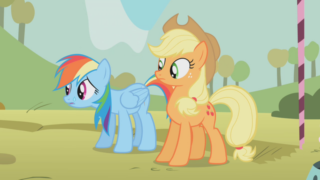 File:Rainbow Dash sweating S1E13.png