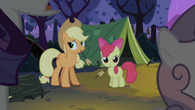 File:Rarity and Sweetie Belle talk to each other S2E05.png