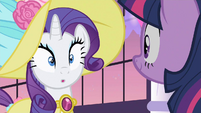 Rarity cute reaction S2E9