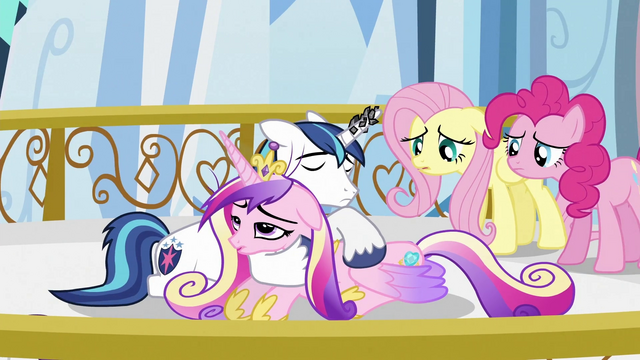 File:Shining Armor comforting Princess Cadance S3E2.png