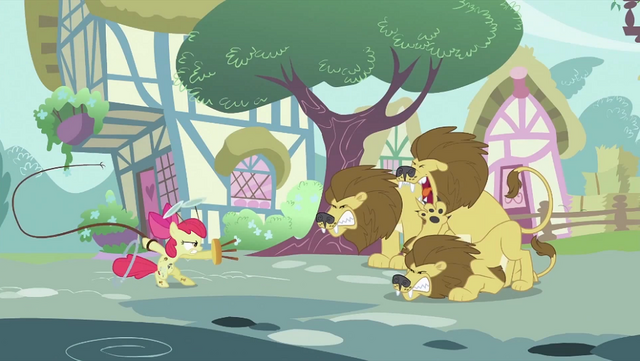 File:Apple Bloom wielding whip and chair S2E06.png