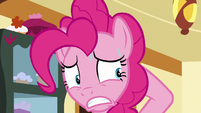 Pinkie Pie in an uncomfortable sweat S6E15
