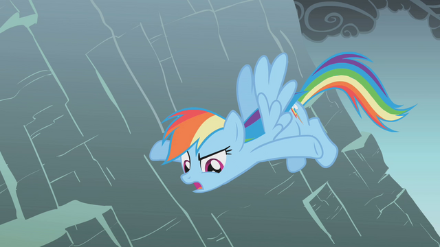 File:Rainbow says Fluttershy could just fly up S1E07.png