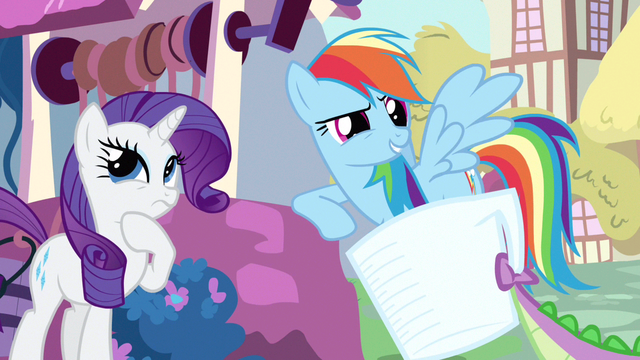File:Rarity & Rainbow Dash thinking about it S3E11.png