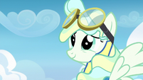 Vapor Trail eager to learn from Rainbow Dash S6E24