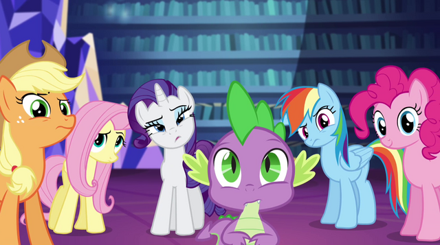 File:Twilight's friends confused by her explanation EG2.png
