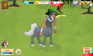 Lord Tirek in-game model MLP mobile game
