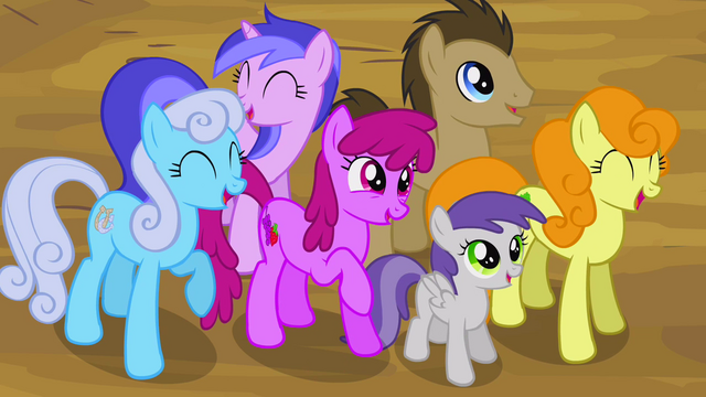 File:Ponies laughing S2E20.png