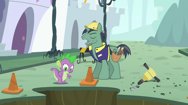 "File:Public Works Pony ""we can't have a broken water main"" S5E10.png"