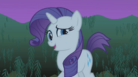 "Rarity ""it'll grow back"" S1E02"