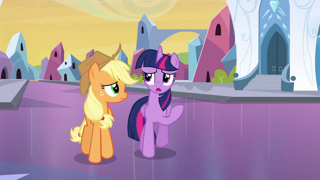 "File:Twilight Sparkle ""I'm a little nervous, too"" EG.png"