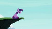 Twilight on a cliff S4E26