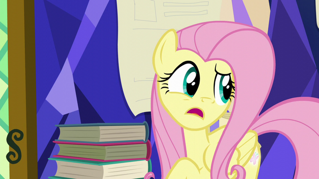 "File:Fluttershy ""ever since the map called us?"" S5E23.png"