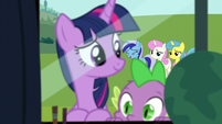 Minuette laughs S5E12