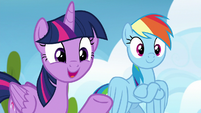 "Twilight Sparkle ""have you noticed anypony"" S6E24"