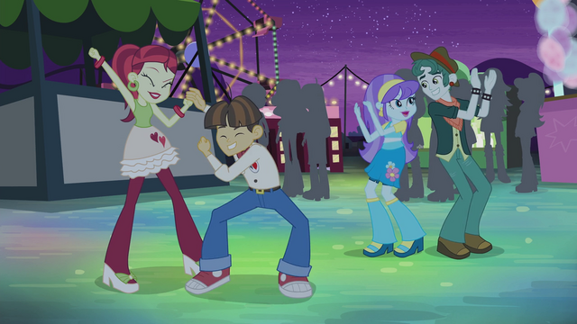 File:Various Canterlot High students dancing EG2.png