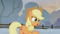 "Applejack ""traditionally, it's the youngest"" S5E20"