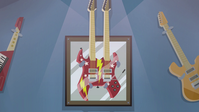 File:Double-necked guitar on display rack EG2.png