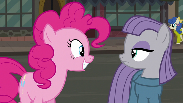 "File:Pinkie Pie ""Pie Sisters' Surprise Swap Day..."" S6E3.png"