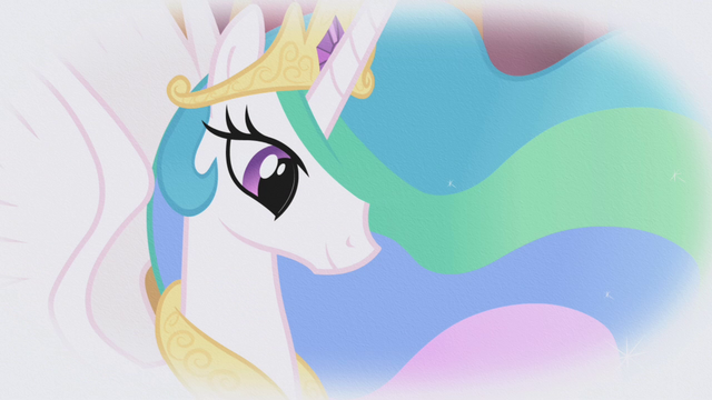 File:Princess Celestia in Rarity's fantasy S1E03.png