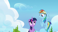 Twilight and Rainbow feeling like failures S6E24