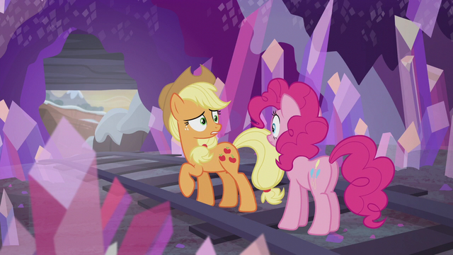 "File:Applejack ""you don't even get presents?!"" S5E20.png"