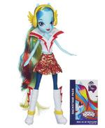 Rainbow Dash Equestria Girls Rainbow Rocks doll