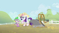 Rarity 'Yes, yes, of course' S4E13